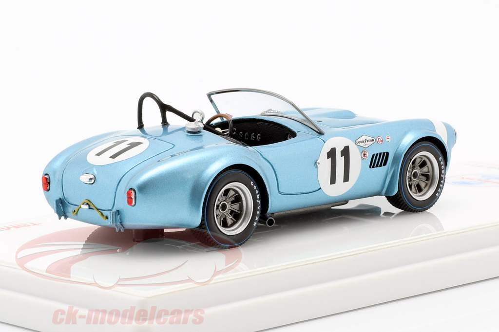 Shelby Cobra roadster #11 12h Sebring 1964 Gurney, Johnson 1:43 TrueScale