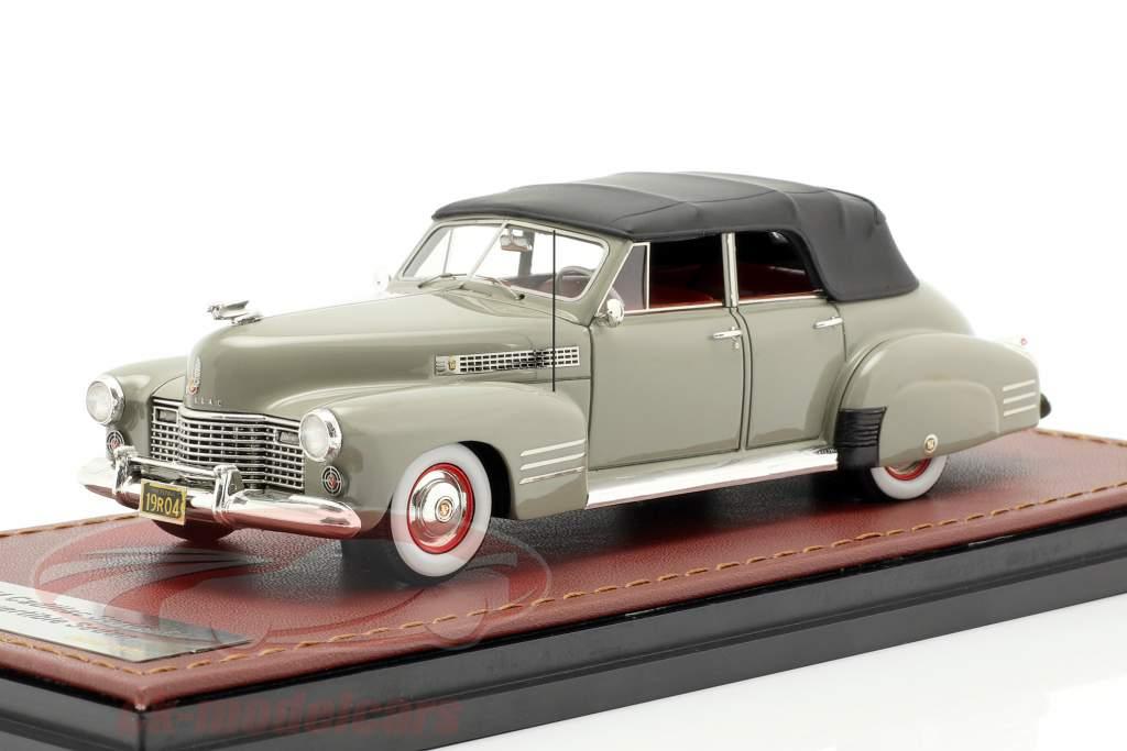 Cadillac Series 62 Convertible Sedan fermé année de construction 1941 gris 1:43 GLM
