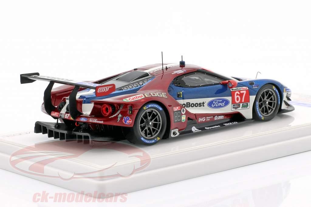 Ford GT #67 classe gagnant 24h Daytona 2018 Briscoe, Dixon, Westbrook 1:43 TrueScale