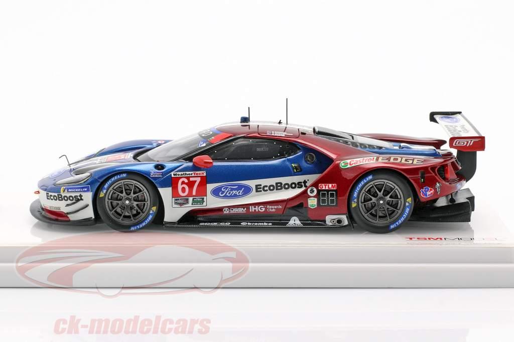 Ford GT #67 klasse Vinder 24h Daytona 2018 Briscoe, Dixon, Westbrook 1:43 TrueScale