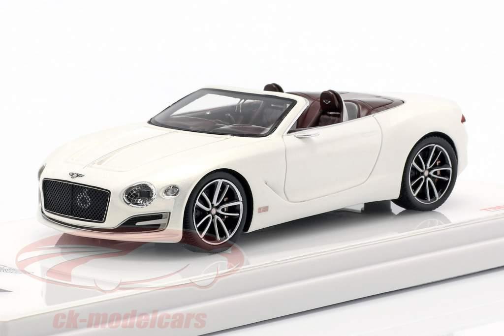 Bentley EXP 12 Speed 6E cabriolé año de construcción 2015 blanco 1:43 TrueScale