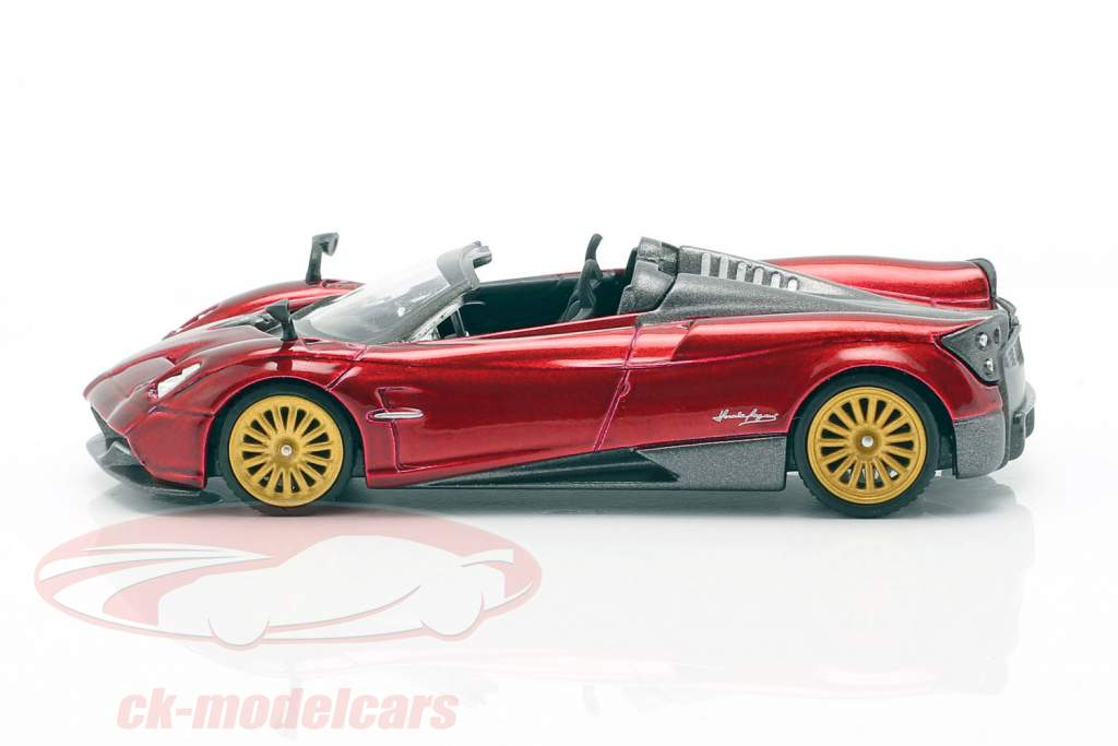 Pagani Huayra Roadster LHD Monza red 1:64 TrueScale