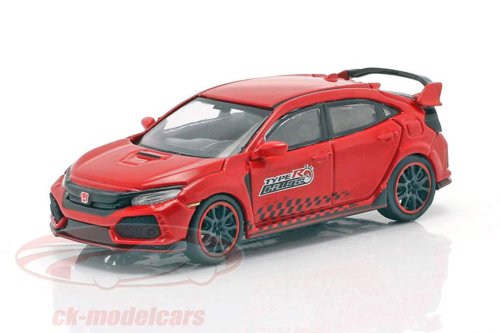 Honda Civic Type R (FK8) LHD Time Attack 2018 red 1:64 TrueScale