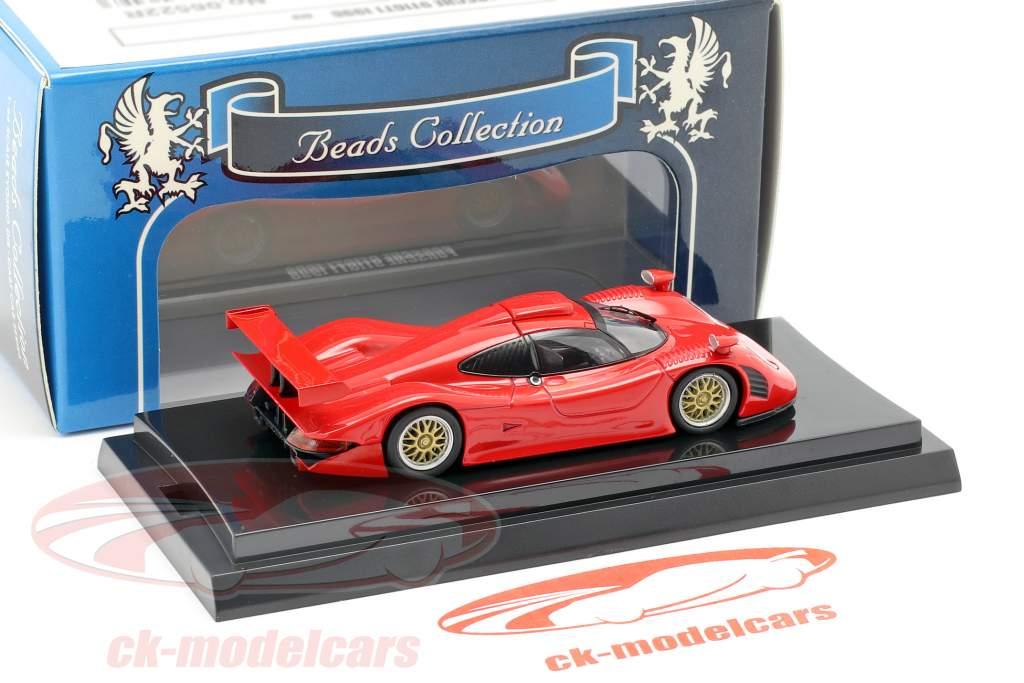 Porsche 911 GT1 Baujahr 1998 rot 1:64  Kyosho