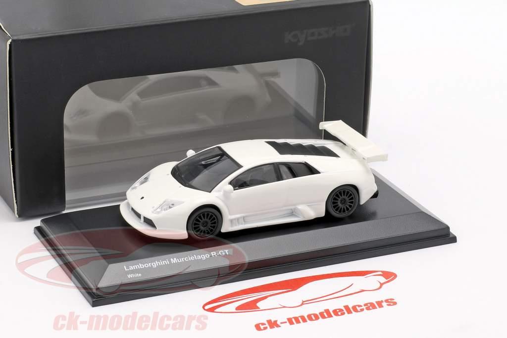Lamborghini Murcielago R-GT branco 1:64 Kyosho