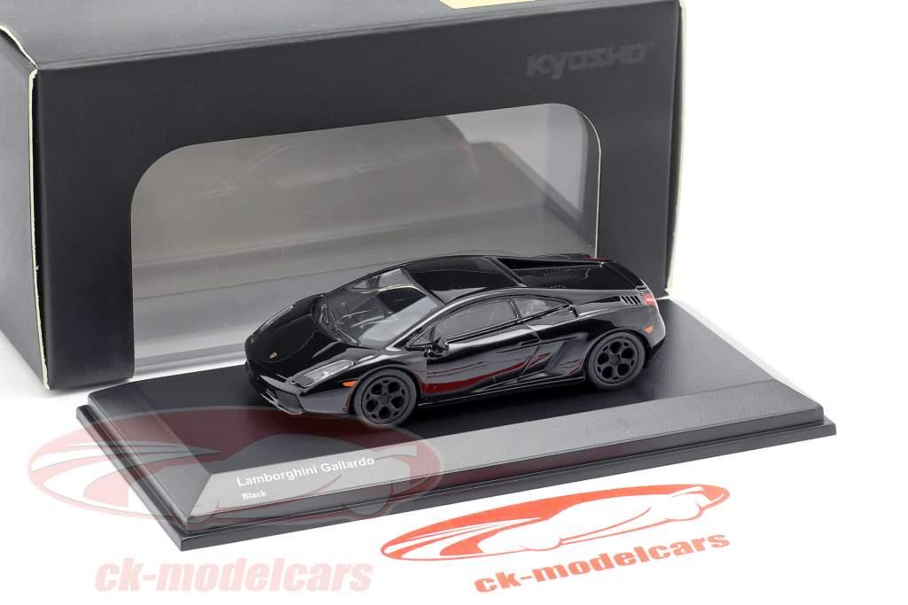 Lamborghini Gallardo noir  1:64 Kyosho