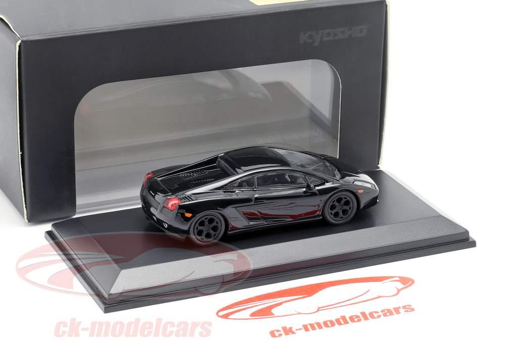 Lamborghini Gallardo schwarz  1:64 Kyosho