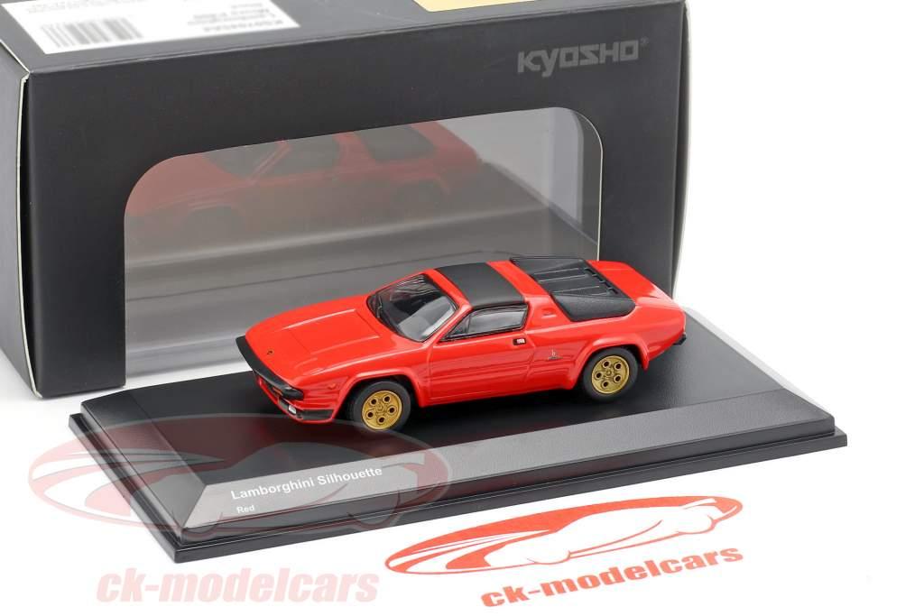 Lamborghini Silhouette rød 1:64 Kyosho