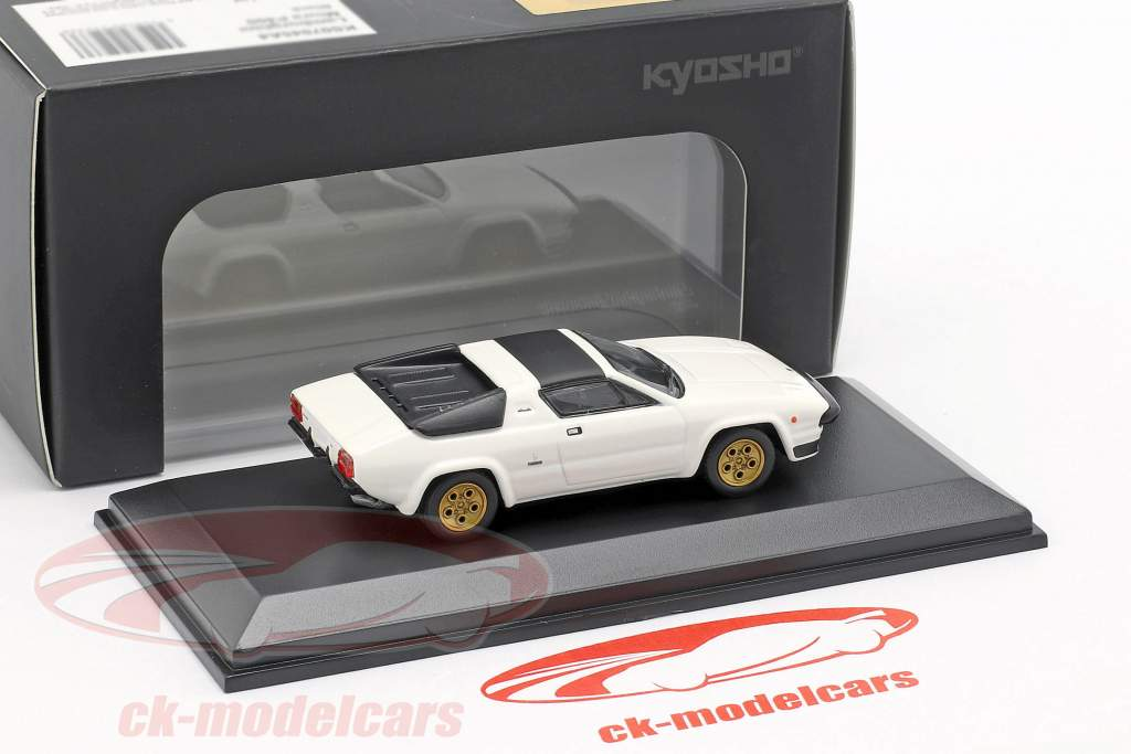 Lamborghini Silhouette blanco 1:64 Kyosho