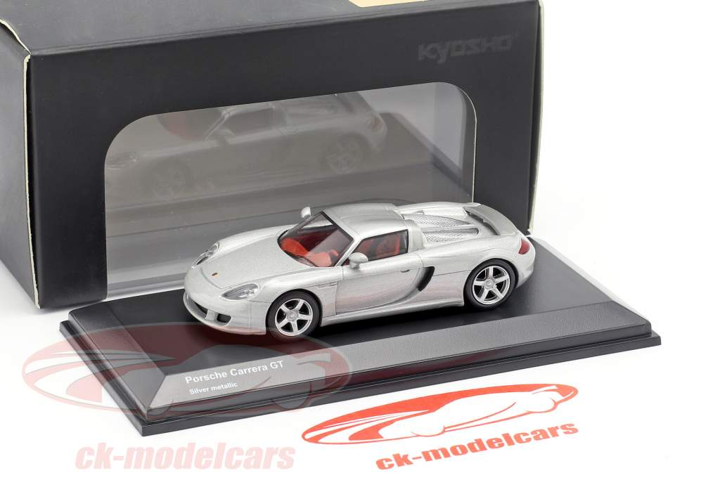 Porsche Carrera GT silber metallic 1:64 Kyosho