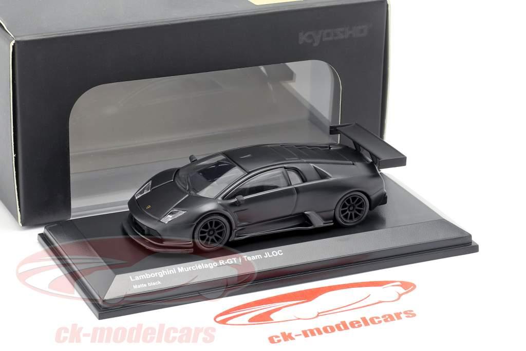 Lamborghini Murcielago R-GT Team JLOC tappetino nero 1:64 Kyosho