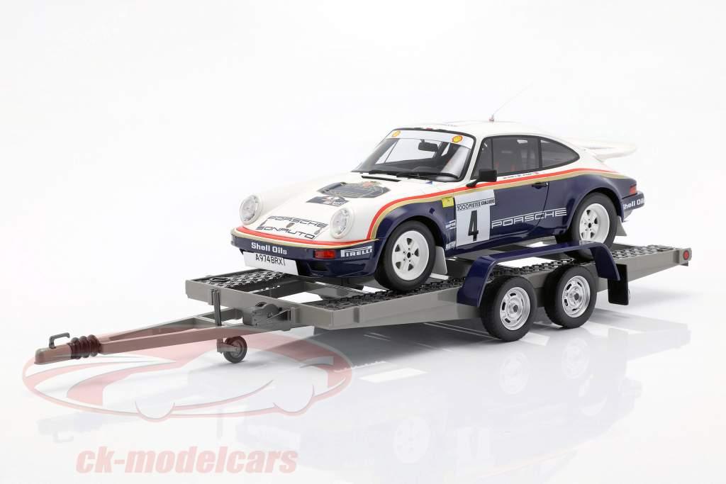 3-Car Set winnaar Rallye des 1000 Pistes 1984 Rothmans Porsche 1:18 OttOmobile