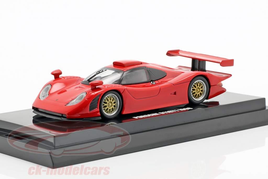 Porsche 911 GT1 Opførselsår 1998 rød 1:64  Kyosho