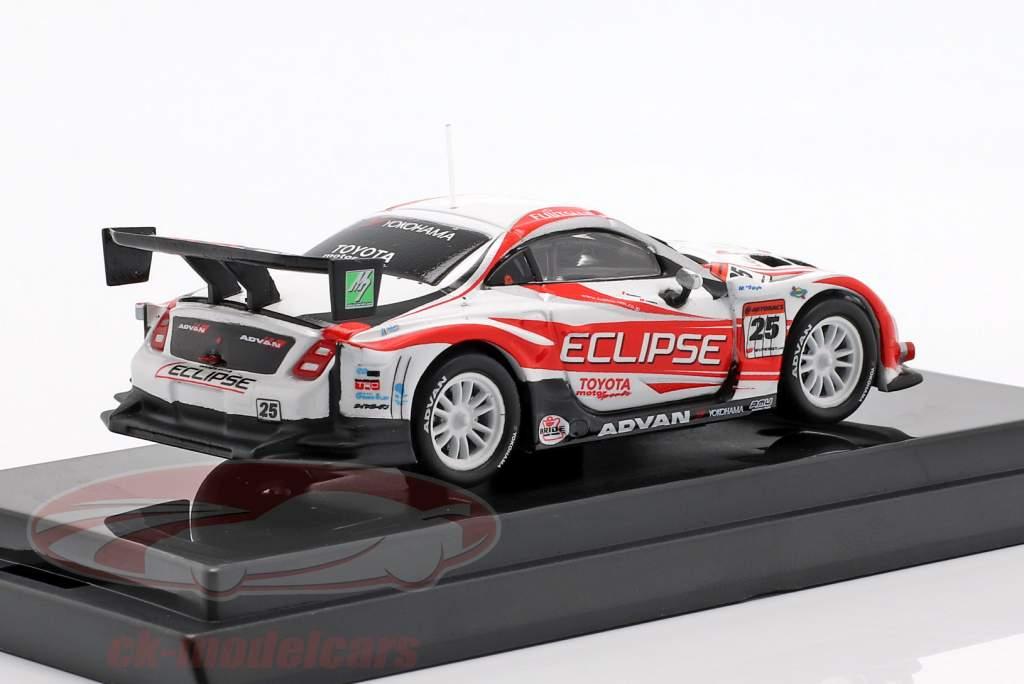 Lexus SC430 #25 Super GT Series 2007 Tsuchiya, Orido 1:64 Kyosho