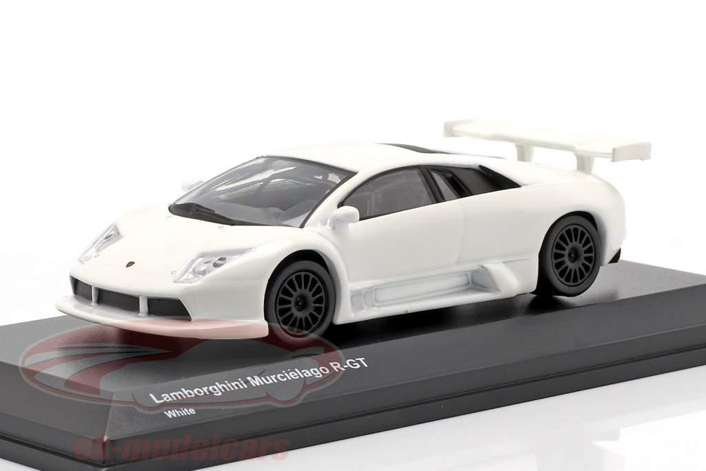 Lamborghini Murcielago R-GT blanco 1:64 Kyosho