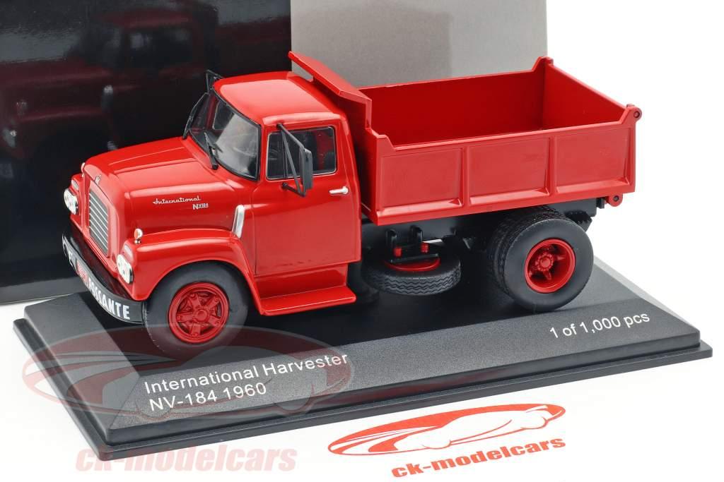 International Harvester IHC NV-184 Opførselsår 1960 rød 1:43 WhiteBox
