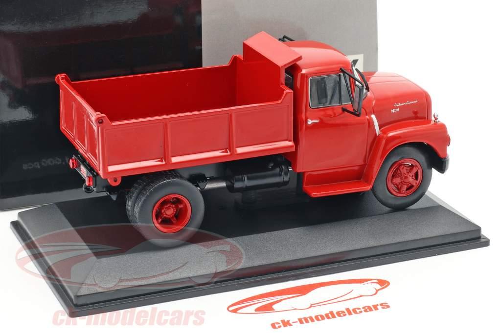 International Harvester IHC NV-184 year 1960 red 1:43 WhiteBox