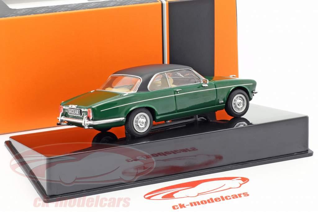Jaguar XJ12C coupe anno di costruzione 1976 verde scuro / nero 1:43 Ixo