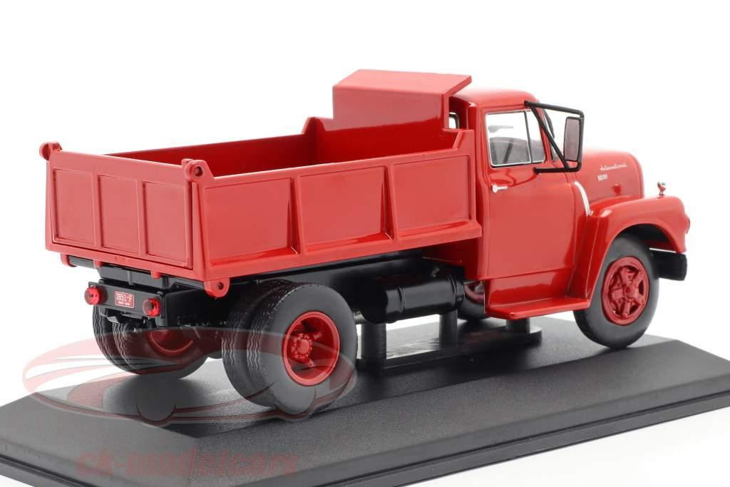 International Harvester IHC NV-184 Bouwjaar 1960 rood 1:43 WhiteBox