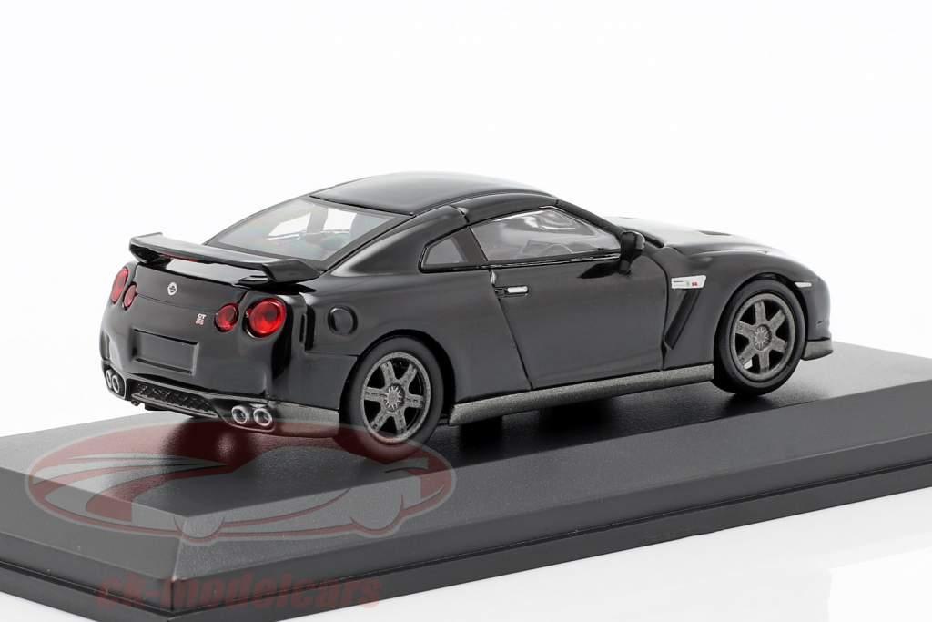 Nissan GT-R (R35) sort 1:64 Kyosho