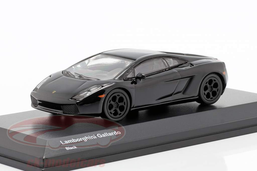 Lamborghini Gallardo negro  1:64 Kyosho