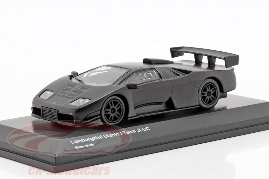 Lamborghini Diablo Team JLOC esteira preto 1:64 Kyosho