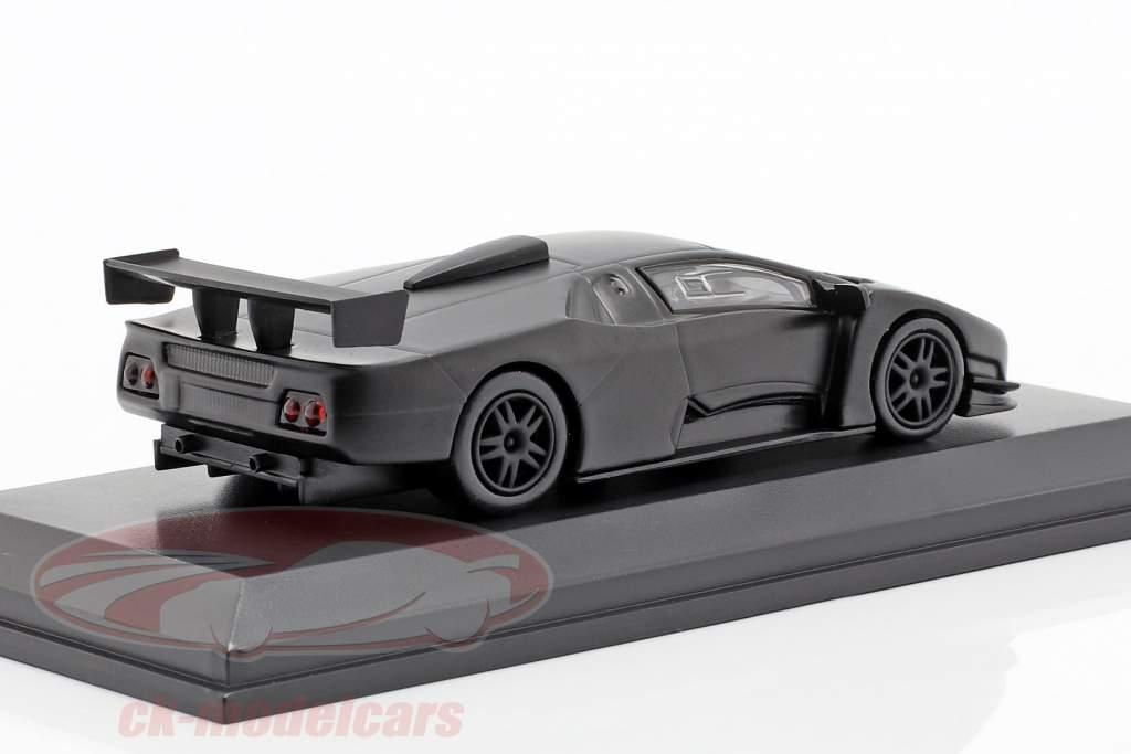 Lamborghini Diablo Team JLOC mat zwart 1:64 Kyosho