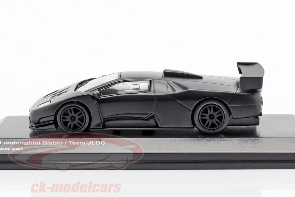 Lamborghini Diablo Team JLOC tappetino nero 1:64 Kyosho