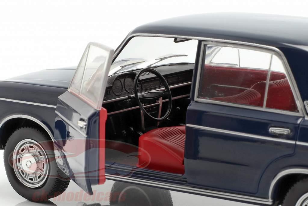 Fiat 125 Special anno di costruzione 1968-1972 blu scuro 1:24 WhiteBox