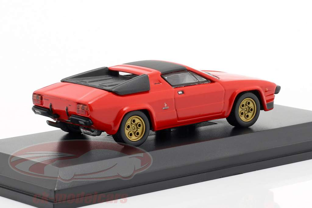Lamborghini Silhouette rood 1:64 Kyosho