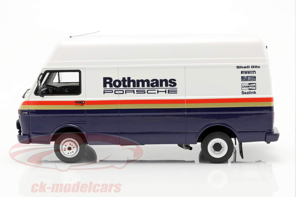 3-Car Set vencedor Rallye des 1000 Pistes 1984 Rothmans Porsche 1:18 OttOmobile
