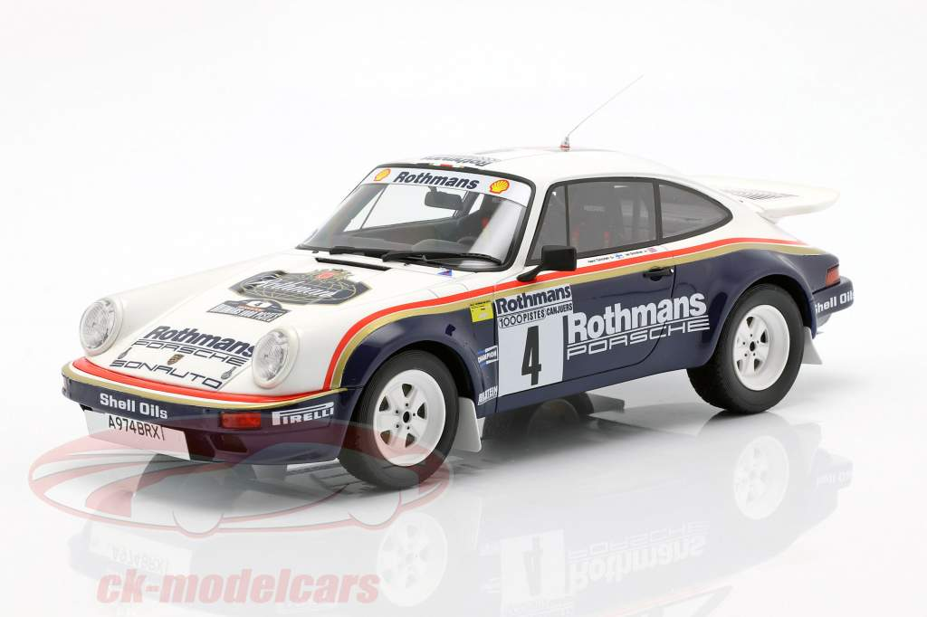3-Car Set gagnant Rallye des 1000 Pistes 1984 Rothmans Porsche 1:18 OttOmobile