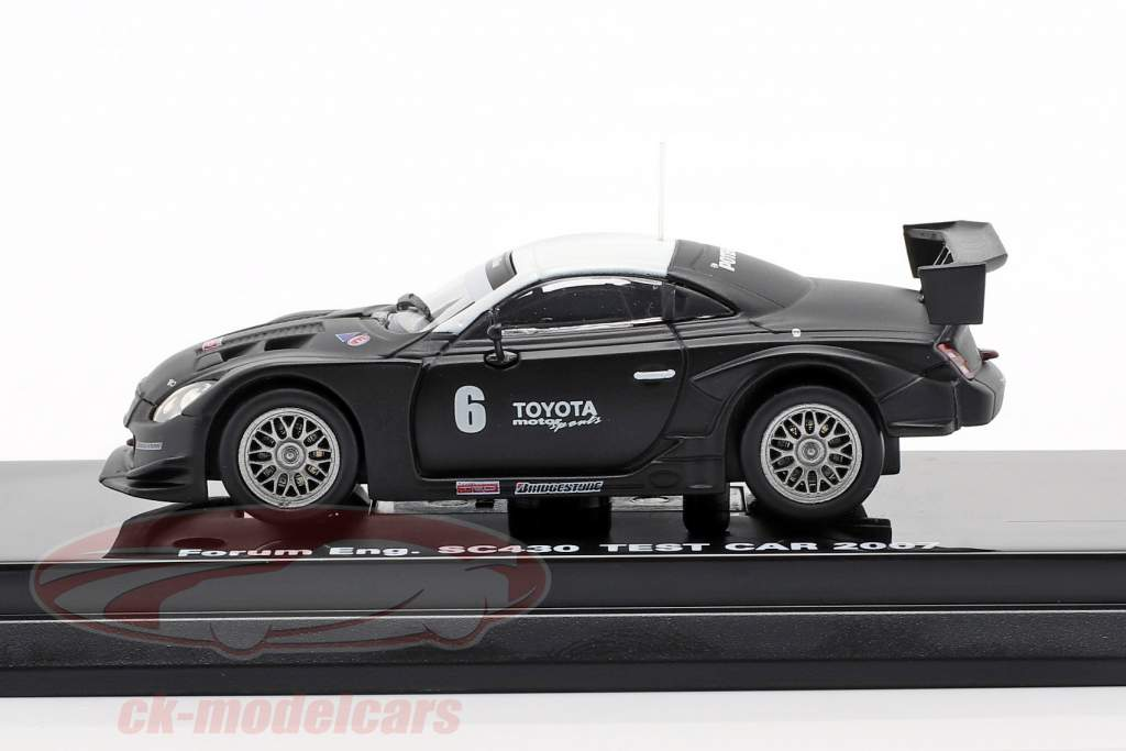 Lexus SC430 #6 Test Car Super GT Series 2007 1:64 Kyosho