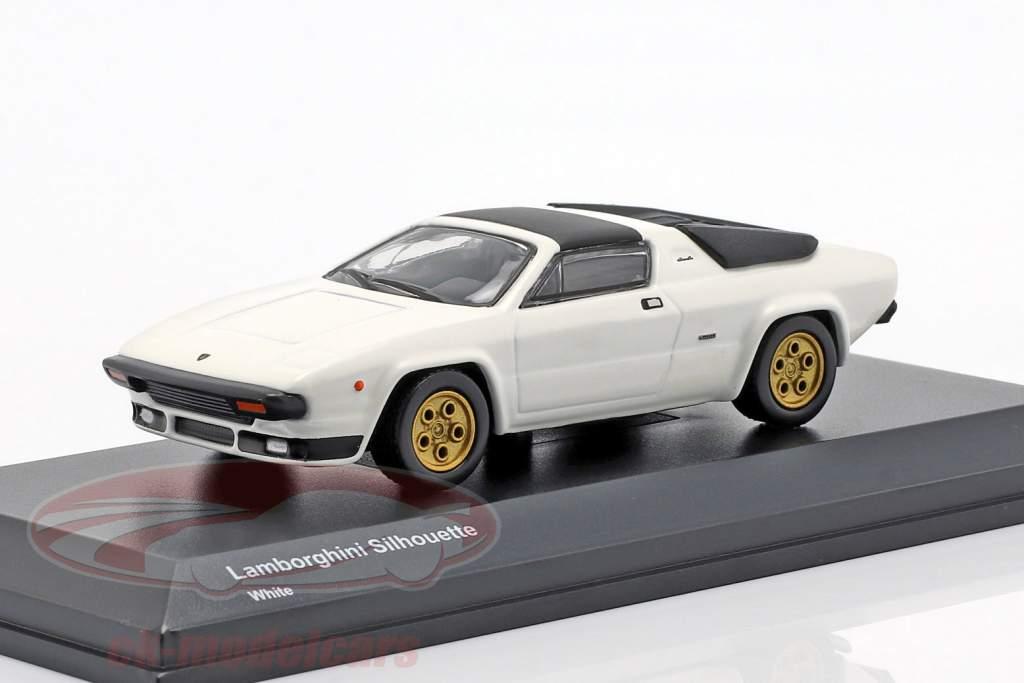 Lamborghini Silhouette hvid 1:64 Kyosho