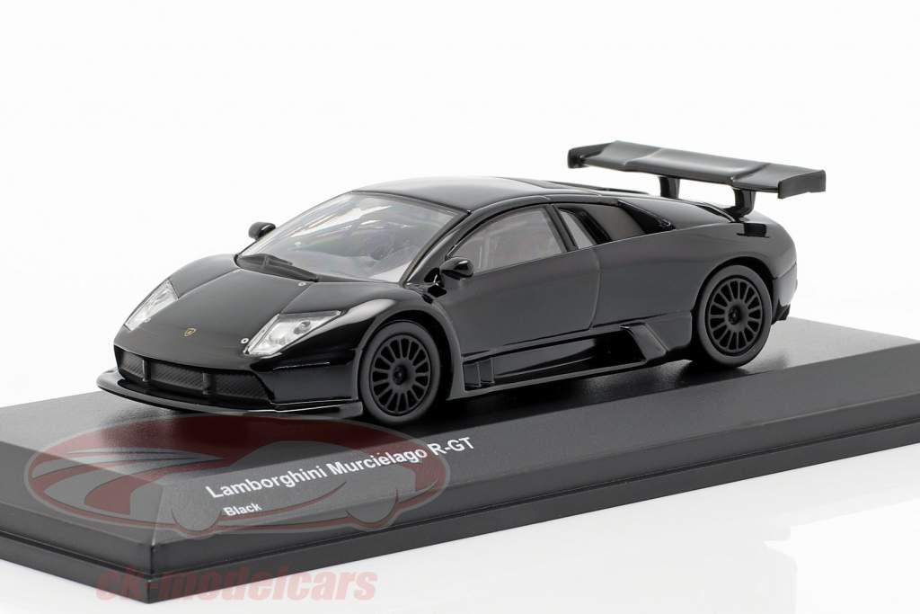 Lamborghini Murcielago R-GT sort 1:64 Kyosho