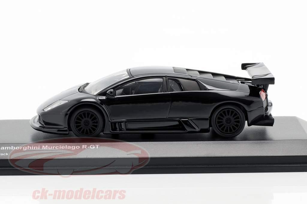 Lamborghini Murcielago R-GT preto 1:64 Kyosho