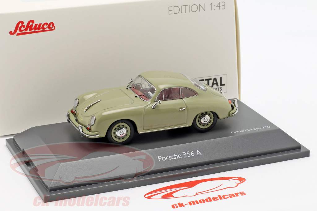 Porsche 356 A Coupé Baujahr 1955-1959 steingrau 1:43 Schuco