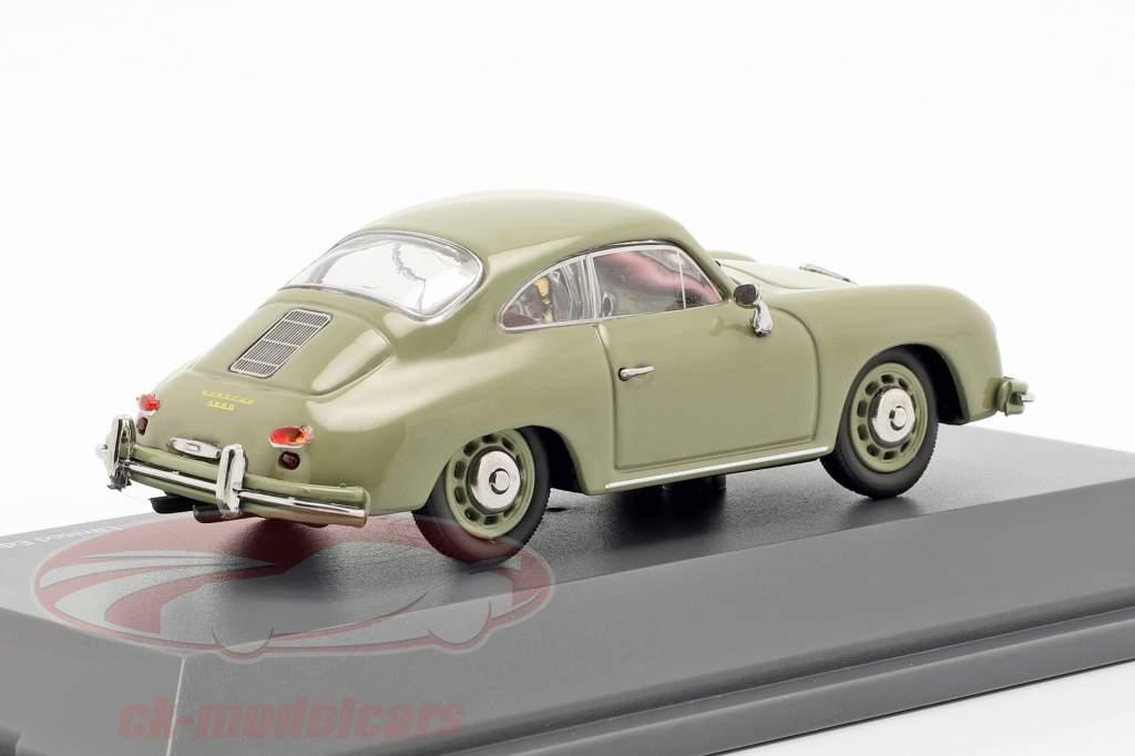 Porsche 356 A Coupe Opførselsår 1955-1959 sten grå 1:43 Schuco