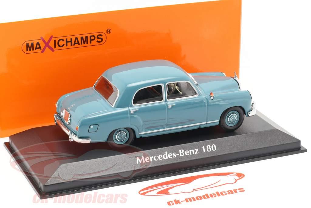 w120 Minichamps 1:43 mercedes-benz 180 Blue