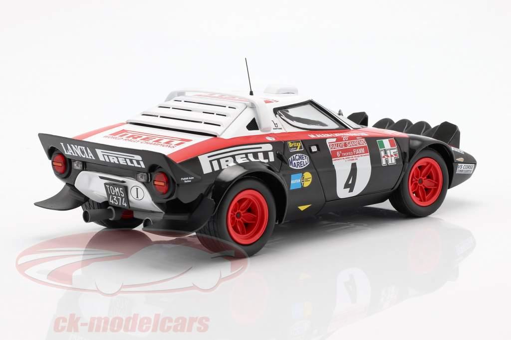 Lancia Stratos HF #4 Vinder Rallye San Remo 1978 Alen, Kivimäki 1:18 Minichamps