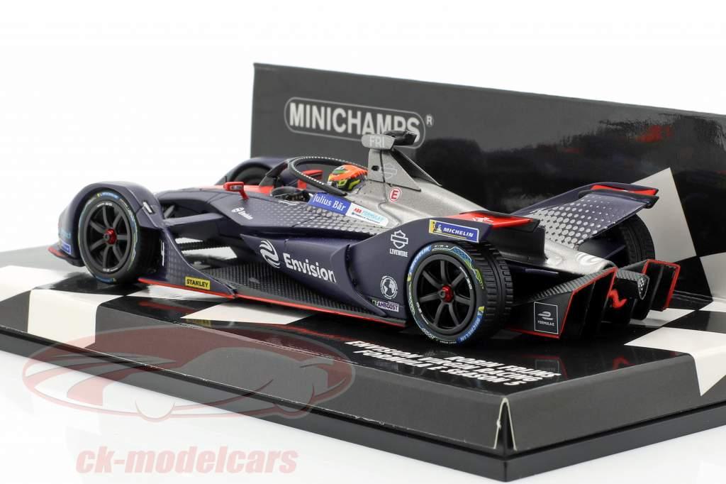 Robin Frijns Audi e-tron FE05 #4 fórmula E temporada 2018/19 1:43 Minichamps