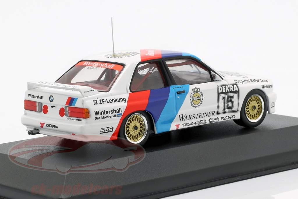 BMW M3 E30 #15 DTM campione 1989 Roberto Ravaglia 1:43 CMR