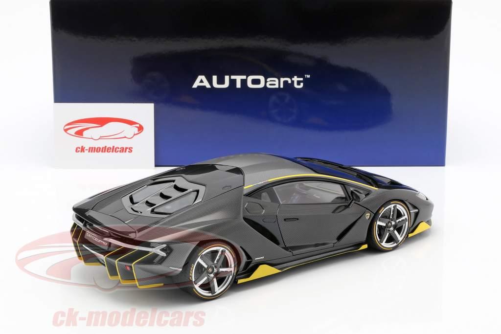 Lamborghini Centenario LP770-4 Opførselsår 2017 klar carboxylsyre 1:18 AUTOart