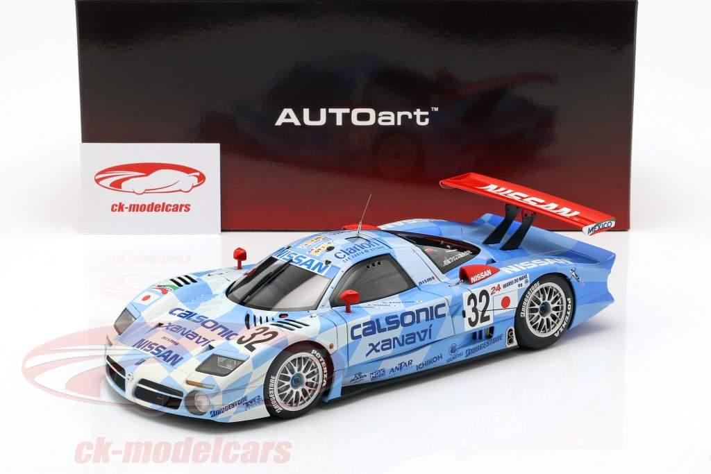 Nissan R390 GT1 #32 3 24h LeMans 1998 Nissan Motorsports 1:18 AUTOart