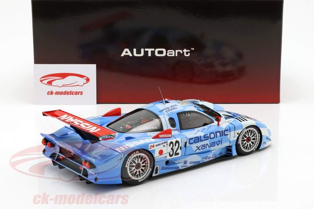 Nissan R390 GT1 #32 3e 24h LeMans 1998 Nissan Motorsports 1:18 AUTOart