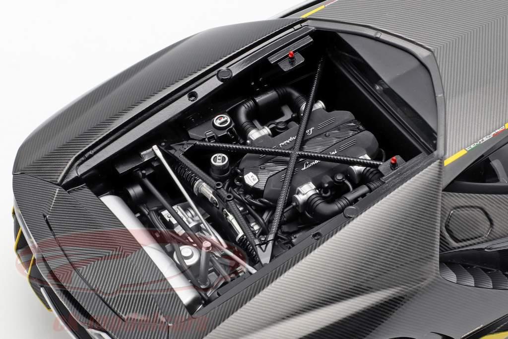Lamborghini Centenario LP770-4 año de construcción 2017 claro carboxílico 1:18 AUTOart