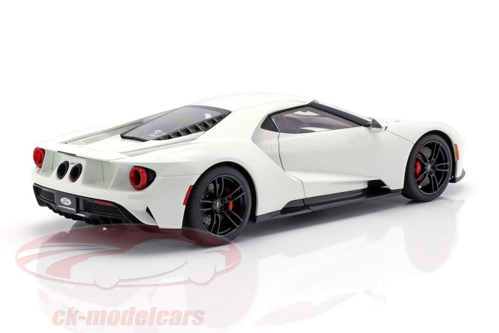 Ford GT año de construcción 2017 congelado blanco 1:18 AUTOart