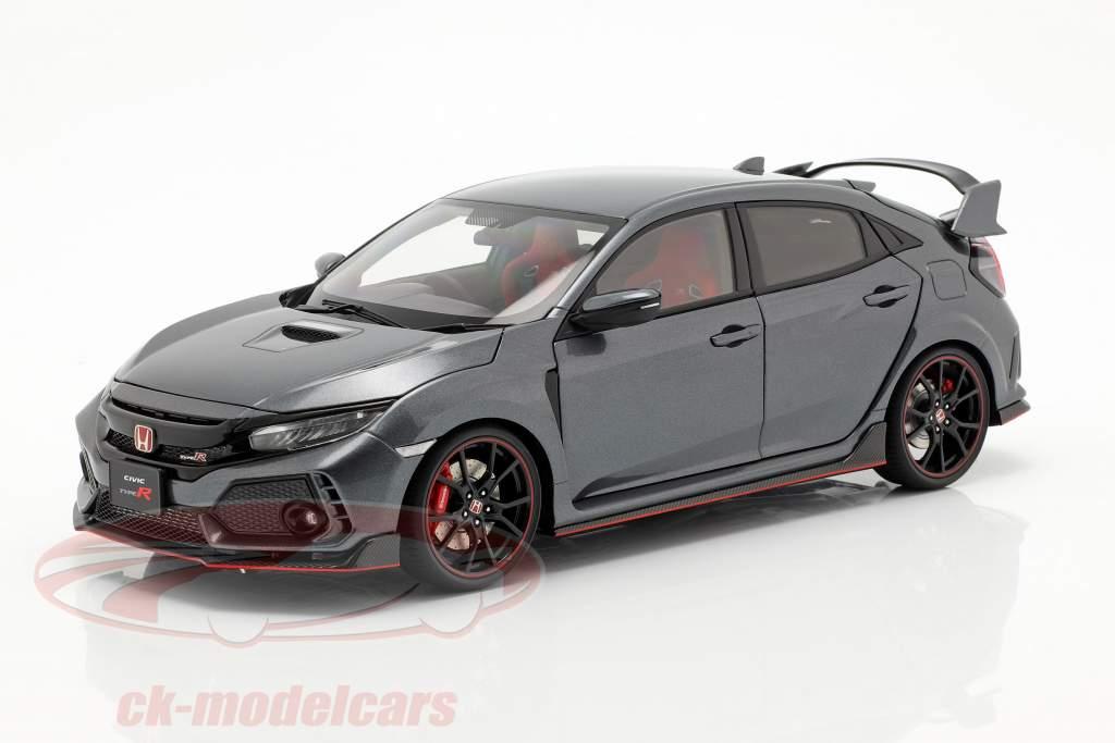Honda Civic tipo R (FK8) anno di costruzione 2017 lucidato metallo 1:18 AUTOart