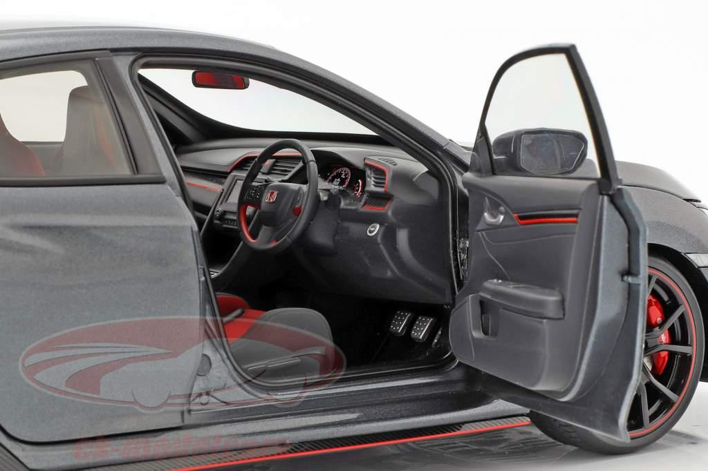 Honda Civic Typ R (FK8) Baujahr 2017 polished metal 1:18 AUTOart