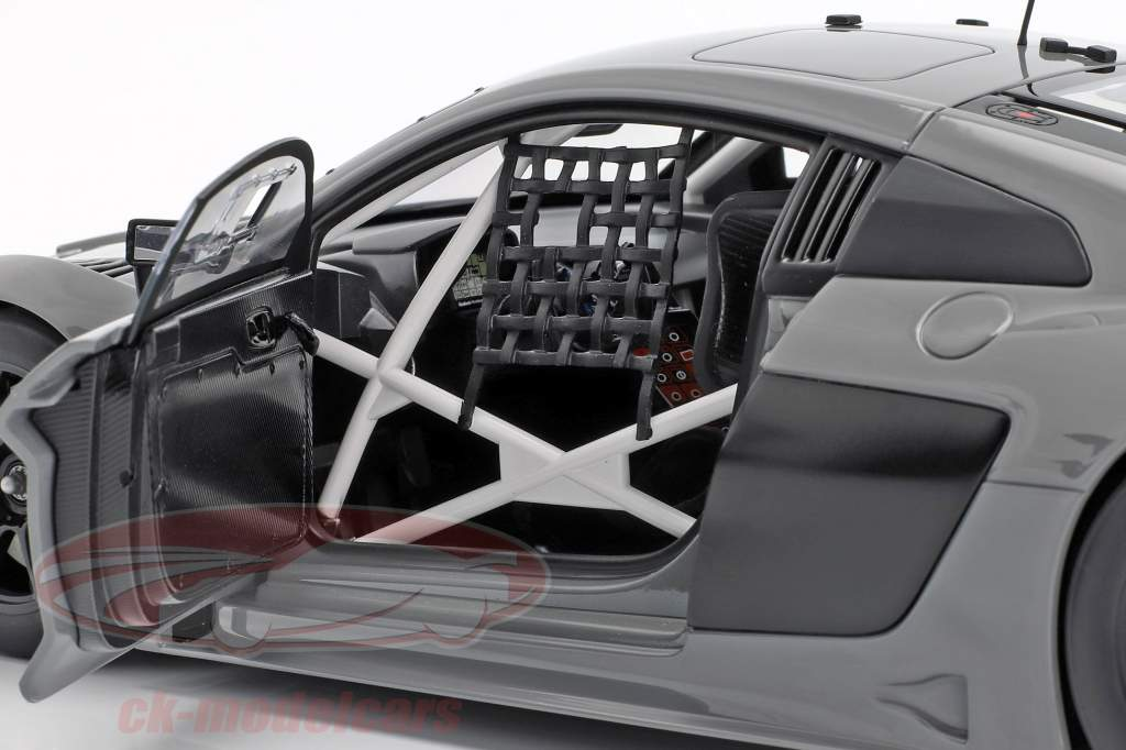 Audi R8 LMS Plain Body Version 2016 nardo grå 1:18 AUTOart